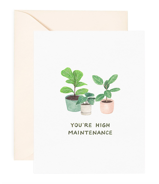 Amy Zhang High Maintenance Love Card