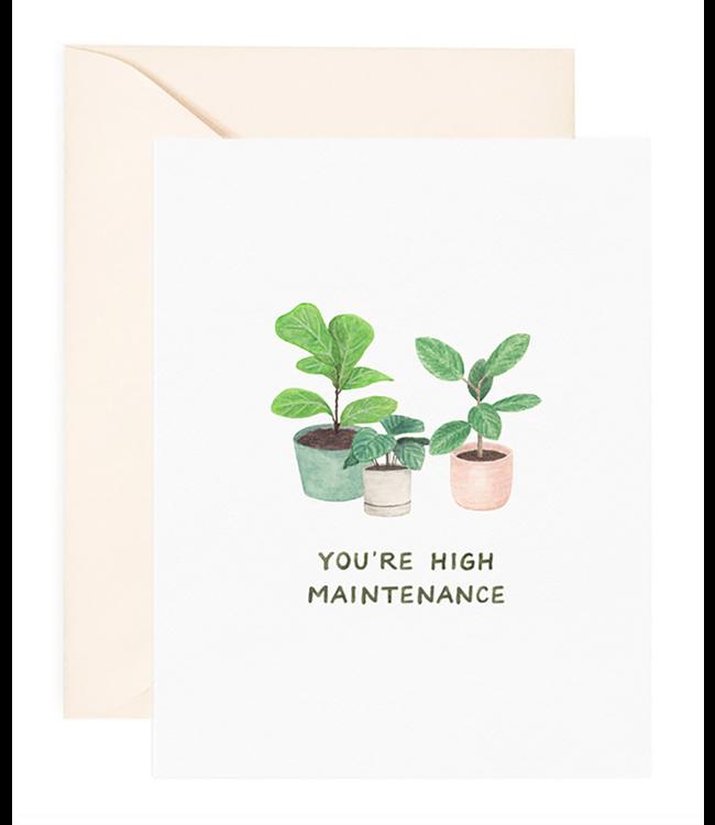 Amy Zhang High Maintenance Love Card