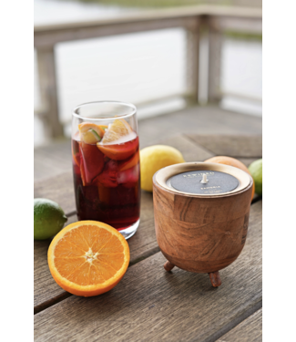 Rewined Sangria Barrel Aged Candle