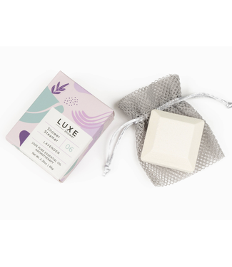 Luxe Lavender Shower Steamer Fizzy Bomb