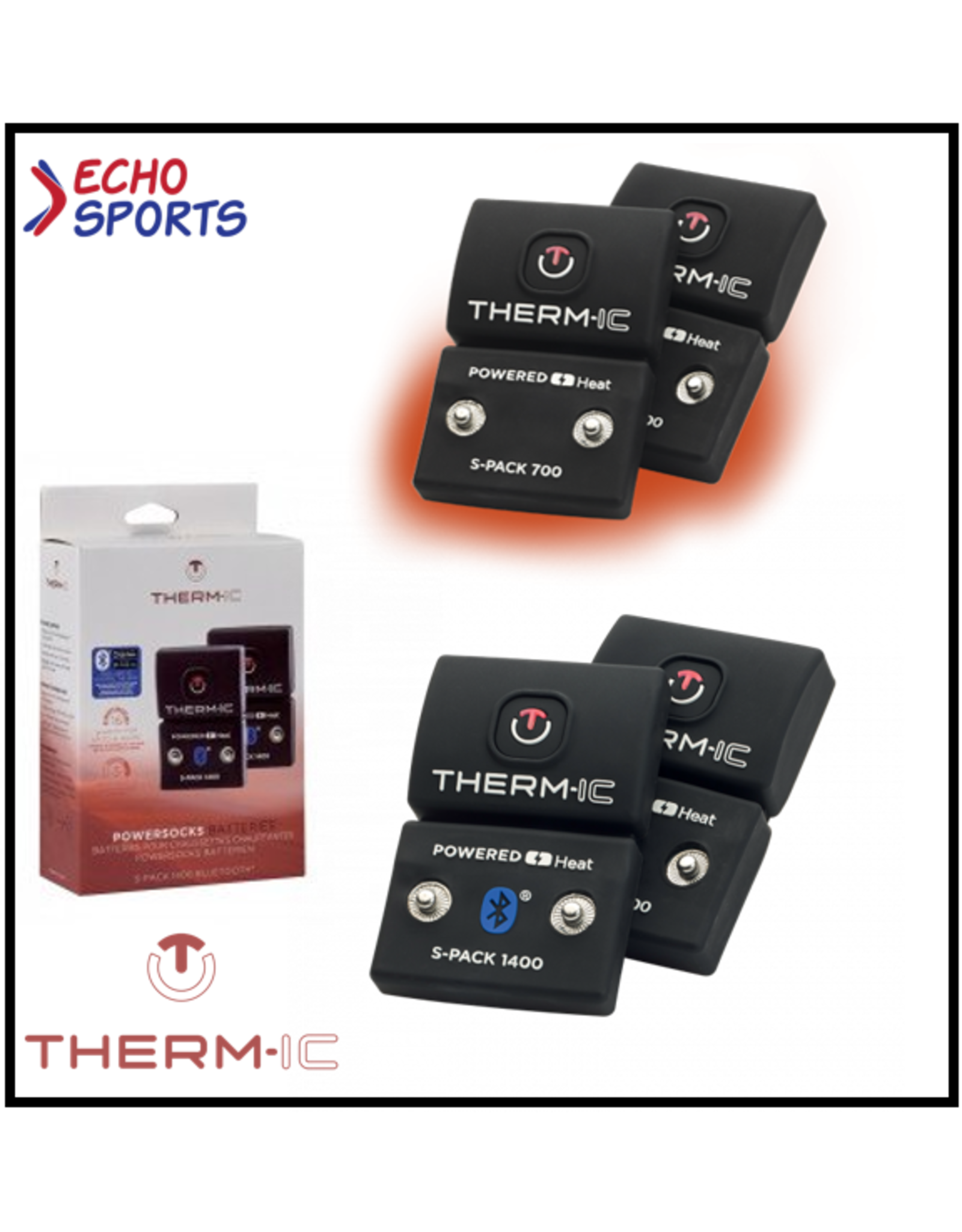 BATTERIE POUR CHAUSSETTES THERM-IC  S-PACK