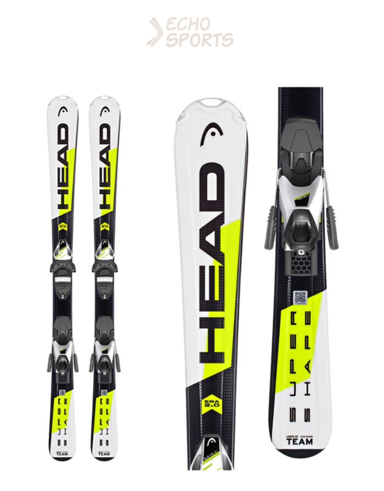 SKI HEAD SUPERSHAPE TEAM SLR2 JR
