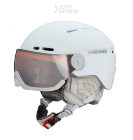 HEAD CASQUE QUEEN BLANC