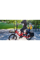 TERN TERN HSD P9 RED foldable electric assist cargo bike