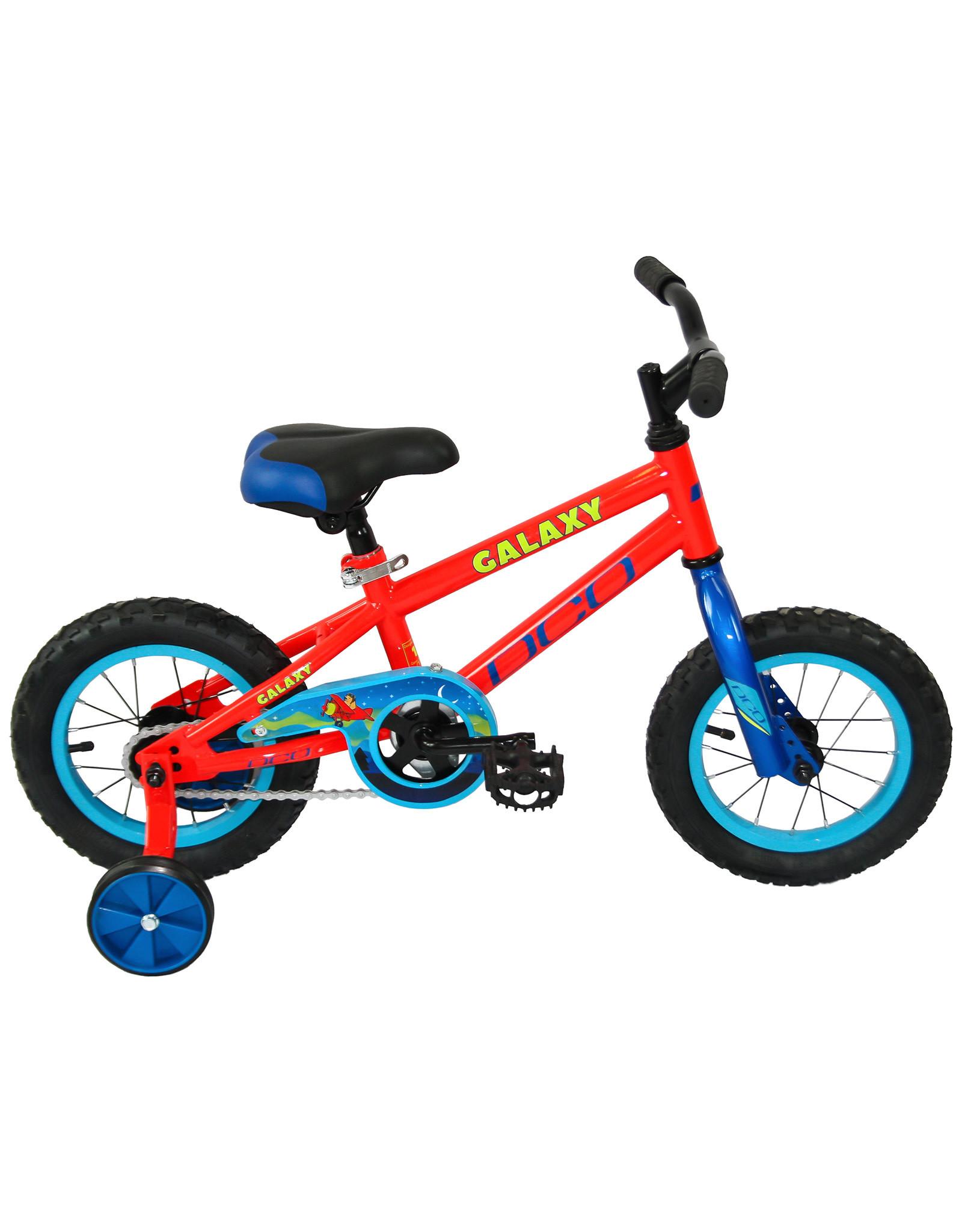 DCO Vélo junior DCO GALAXY 12 Rouge Bleu 12