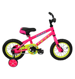 DCO DCO GALAXY 12 PINK/YELLOW JUNIOR BIKE