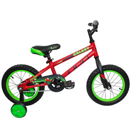 DCO DCO GALAXY 14 RED/GREEN MAT JUNIOR BIKE
