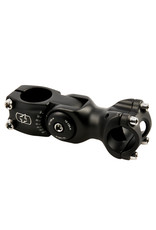 Adjustable Ahead Stem 1 1/8x95x31.8mm Black