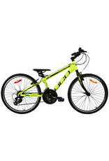 DCO DCO JUNIOR BIKE CONSTELLATION limegreen-black Matte 24