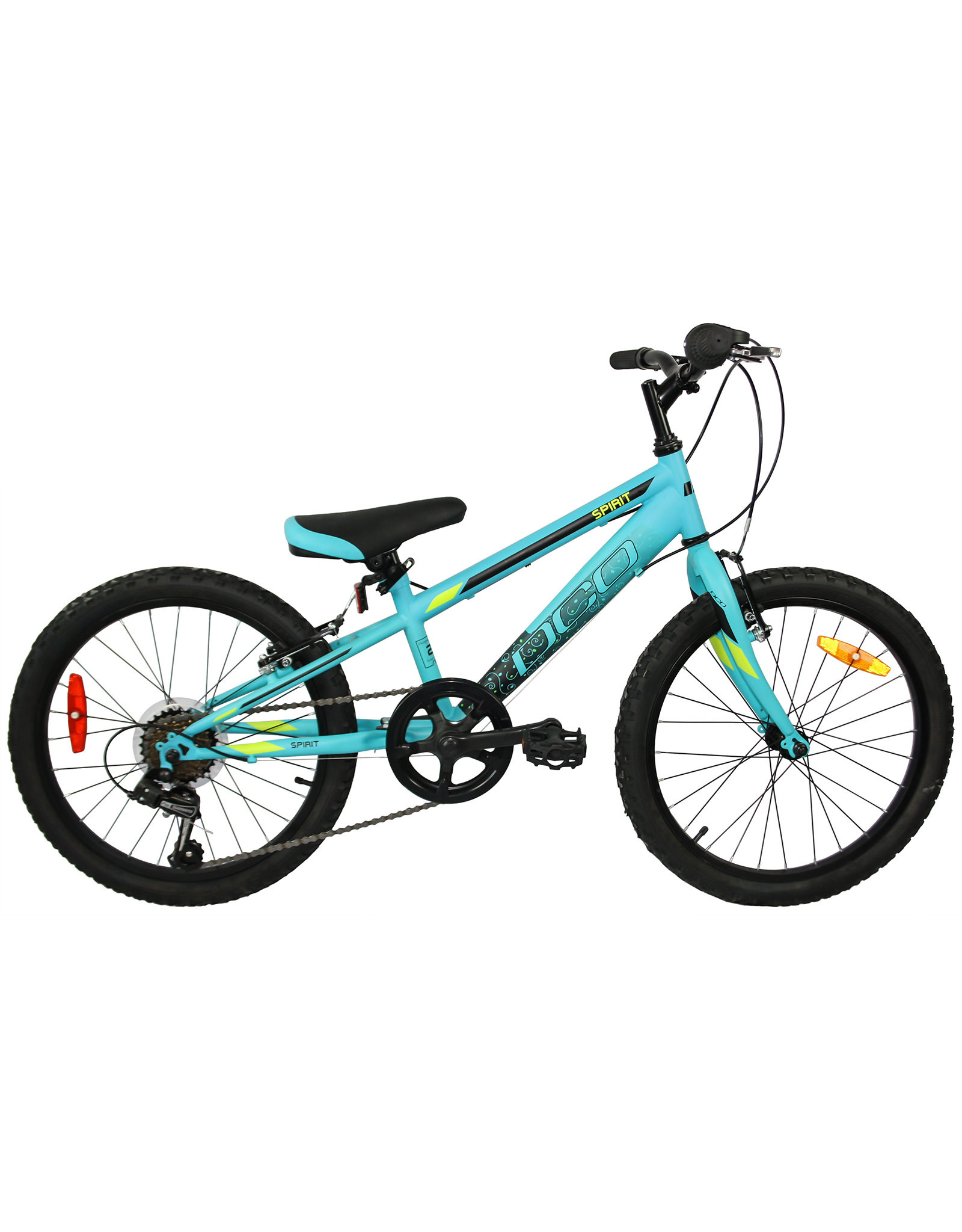 DCO DCO JUNIOR BIKE SPIRIT AQUA  BLACK Mat 20
