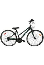 DCO ELEGANCE 702 black  Aqua Mat hybrid bike