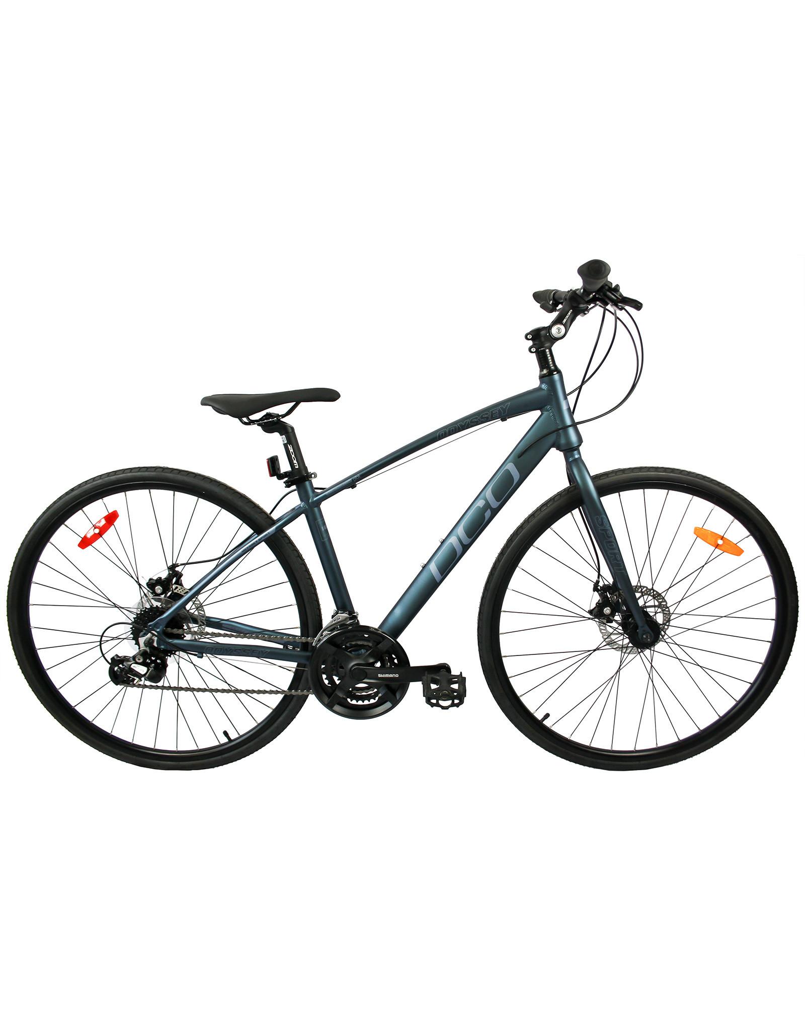 DCO DCO ODYSSEY SPORT dark teal mat grey hybrid bike
