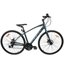 DCO ODYSSEY SPORT Bleu Vert Foncé Gris Mat vélo hybride