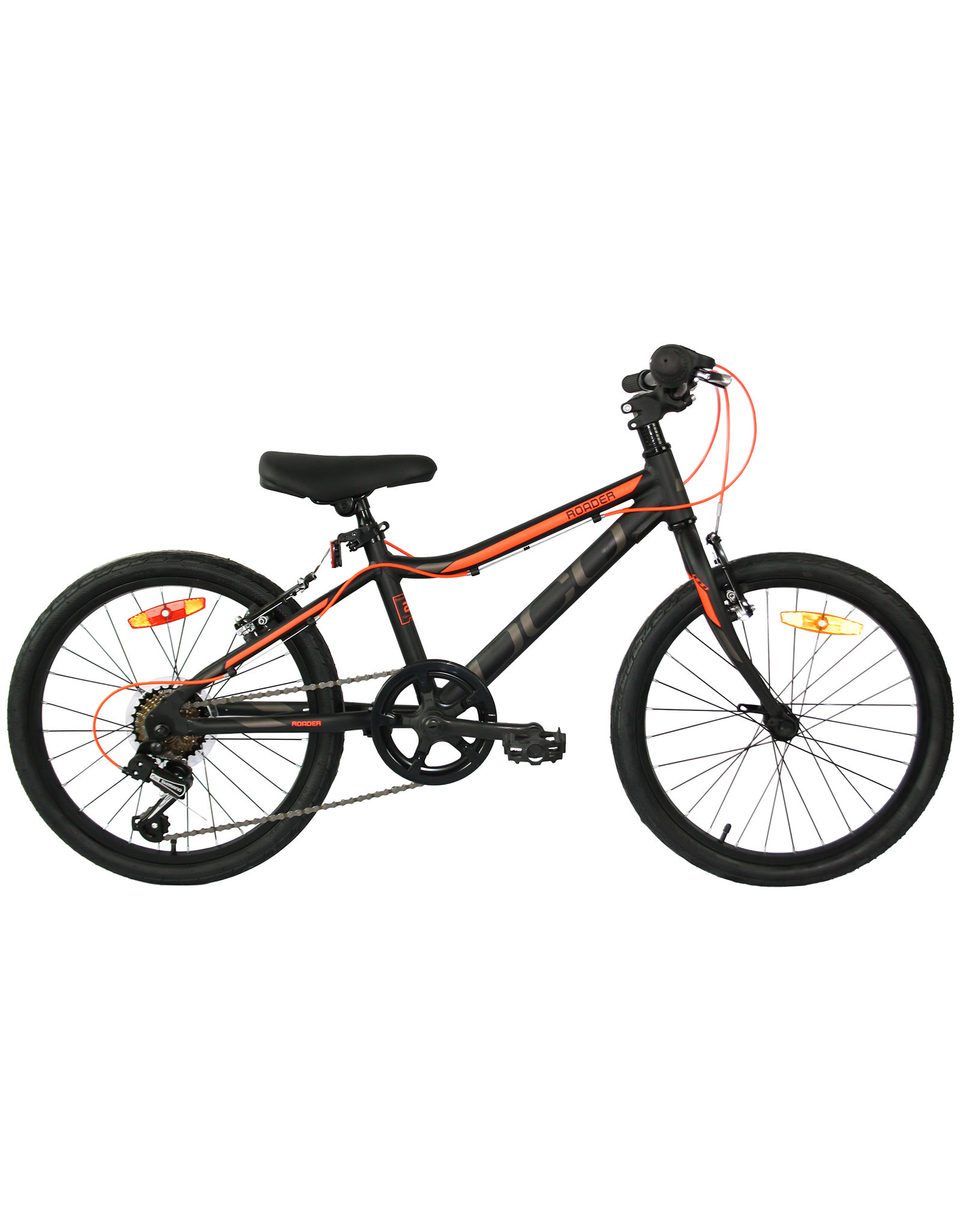 "DCO DCO ROADER 20"" NOIR ORANGE MAT vélo junior"