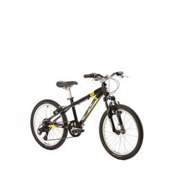 OPUS BOLT LIGHTNING BLACK KID HYBRID BIKE