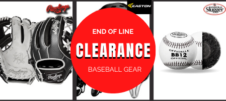 BASEBALL GEAR AND EQUIPMENTCLEARANCE SALE