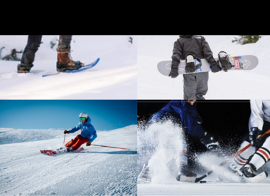 Winter sports' equipment rental