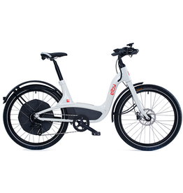 ELBY ELBY 9 SPEEDS WHITE EBIKE