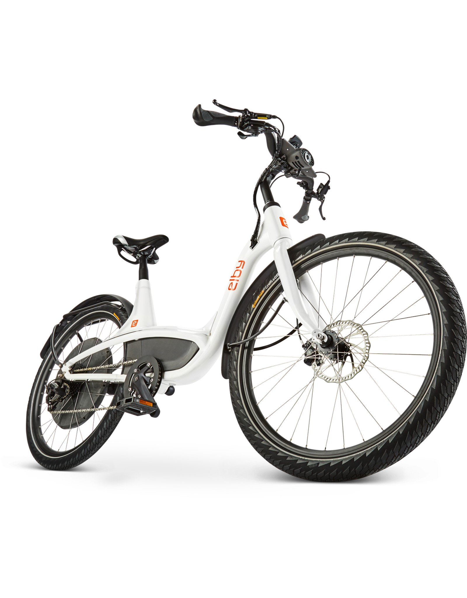 ELBY ELBY 9 SPEEDS 2020 EBIKE WHITE