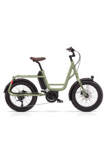 Benno BENNO BIKE REMIDEMI EBIKE PERFORMANCE 65NM 400 WH STEP THROUGH OLIVE
