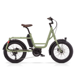 Benno BENNO REMIDEMI MINI CARGO BIKE STEP THROUGH OLIVE