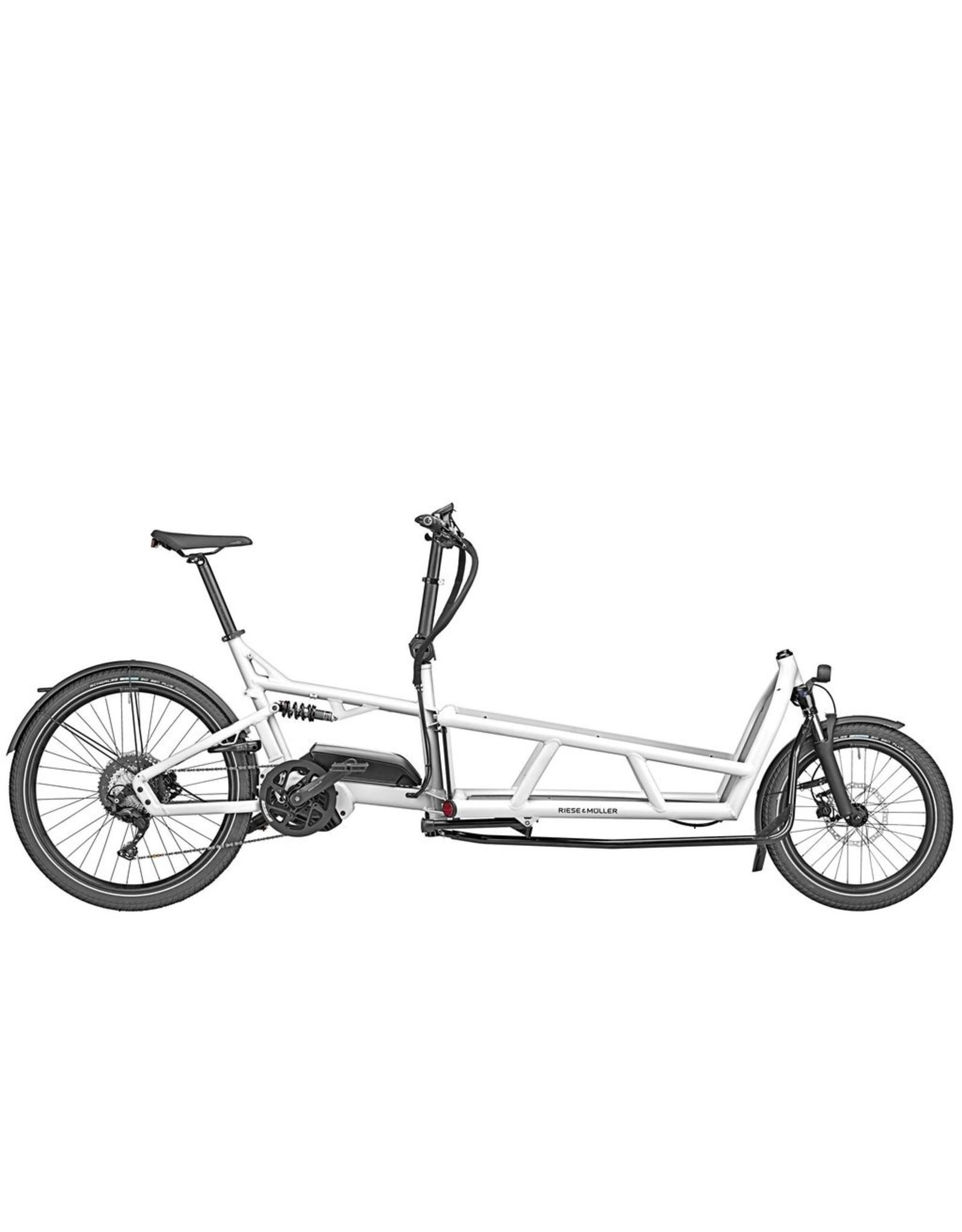 RIESE & MÜLLER RIESE & MULLER LOAD VARIO 75 cargo bike white
