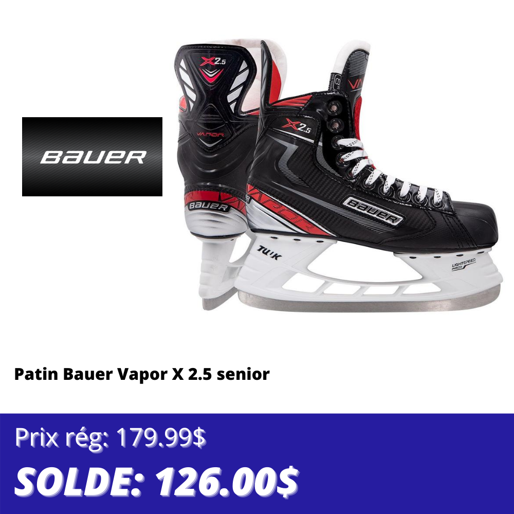 Patin de hockey Bauer