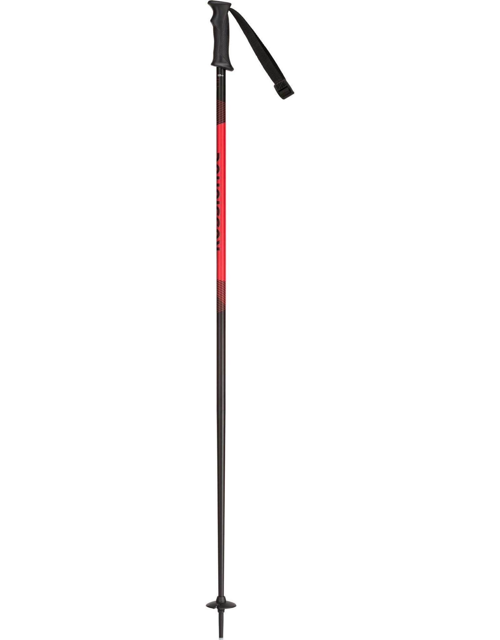 ROSSIGNOL ROSSIGNOL TACTIC BLACK/RED ALPINE SKI POLE SR 20