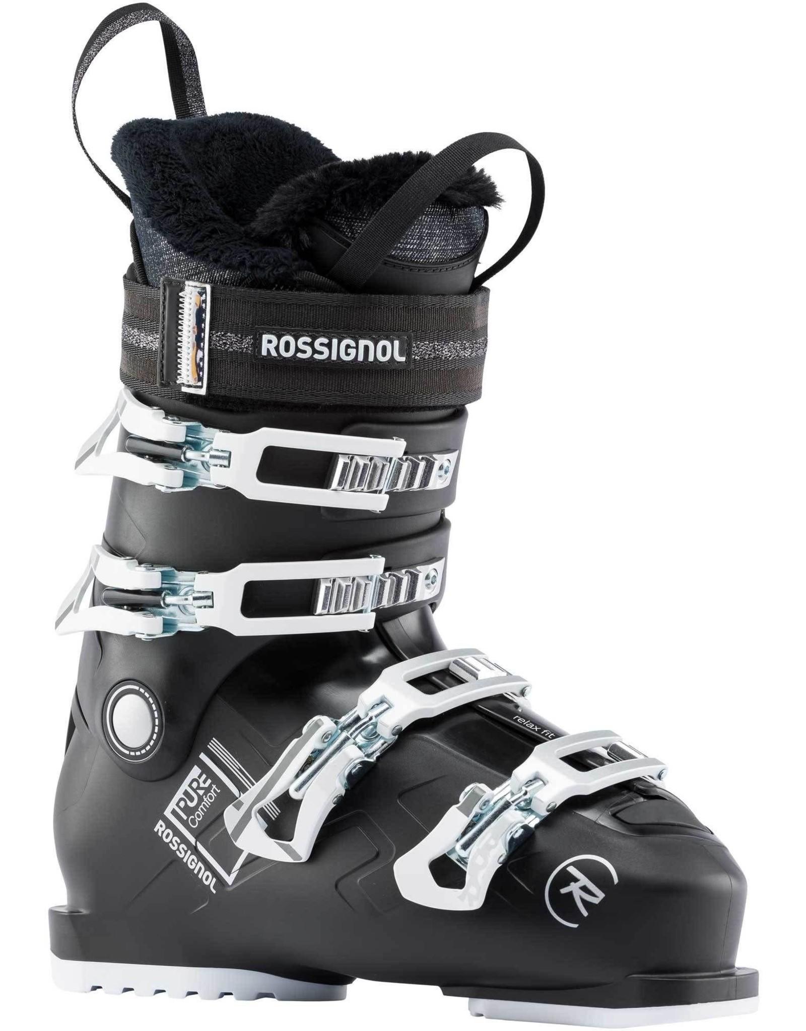 ROSSIGNOL ROSSIGNOL PURE CONFORT 60 BLACK ALPINE SKI BOOT SR 20