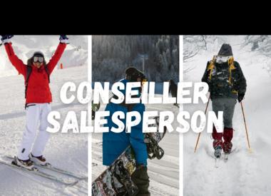 Conseiller en skis & snowboard