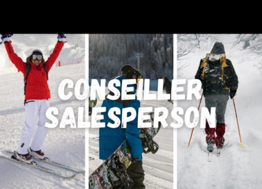 Ski and snowboard salesperson