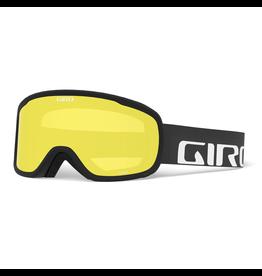 GIRO CRUZ BLACK WDMRK YEL BST SR 20 LUNETTE DE SKI