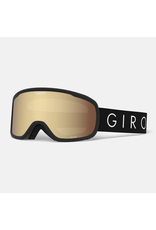 GIRO MOXIE BLK CORE LIGHT AMBR GLD/YEL SR 20 SKI GOGGLE