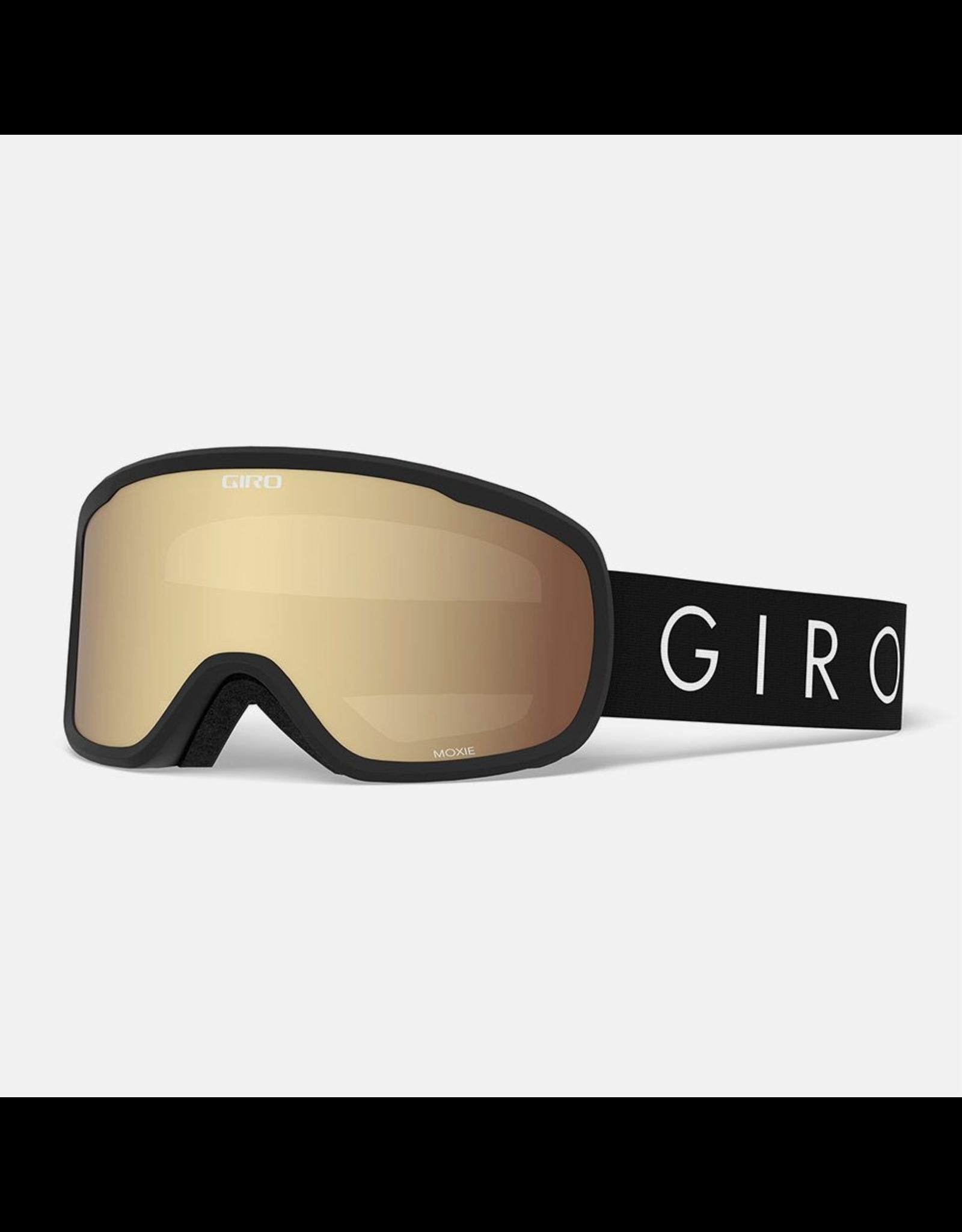 Giro GIRO MOXIE BLK CORE LIGHT AMBR GLD/YEL SR 20 SKI GOGGLE