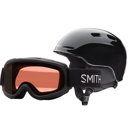 Smith SMITH ZOOM JR GAMBLER COMBO BLACK 20 LUNETTE & CASQUE