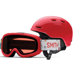 Smith SMITH ZOOM JR GAMBLER COMBO LAVA 20 LUNETTE & CASQUE