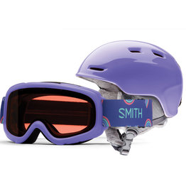 Smith SMITH ZOOM JR GAMBLER COMBO THISTLE 20 LUNETTE & CASQUE