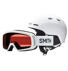 Smith SMITH ZOOM JR RASCAL COMBO WHITE 20 GOGGLE & HELMET