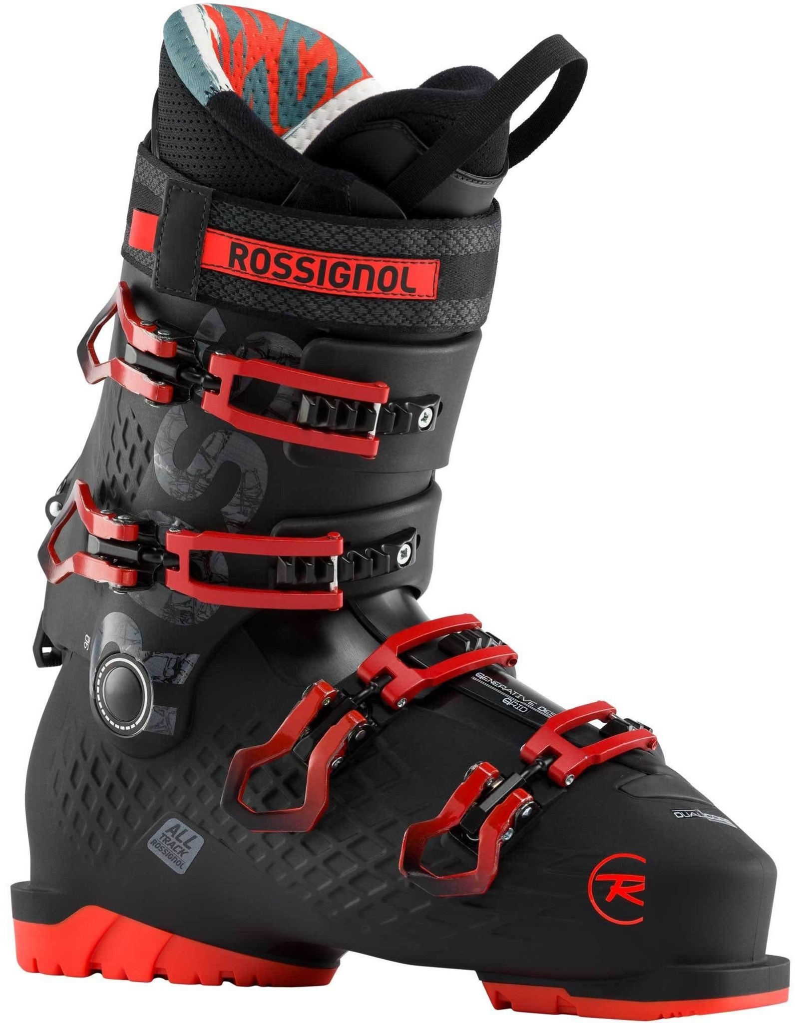 ROSSIGNOL ROSSIGNOL ALLTRACK 90 BLACK/RED BOTTE SKI ALPIN HOMME 20