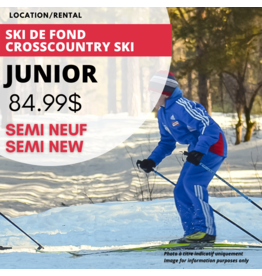 JUNIOR CROSSCOUNTRY EQUIPMENT RENTAL JR (semi-new)