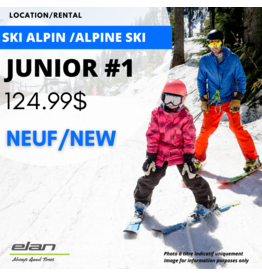 ALPINE SKI EQUIPMENT RENTAL - JUNIOR #1