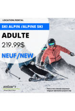 ADULT ALPINE SKI EQUIPMENT RENTAL - NEW