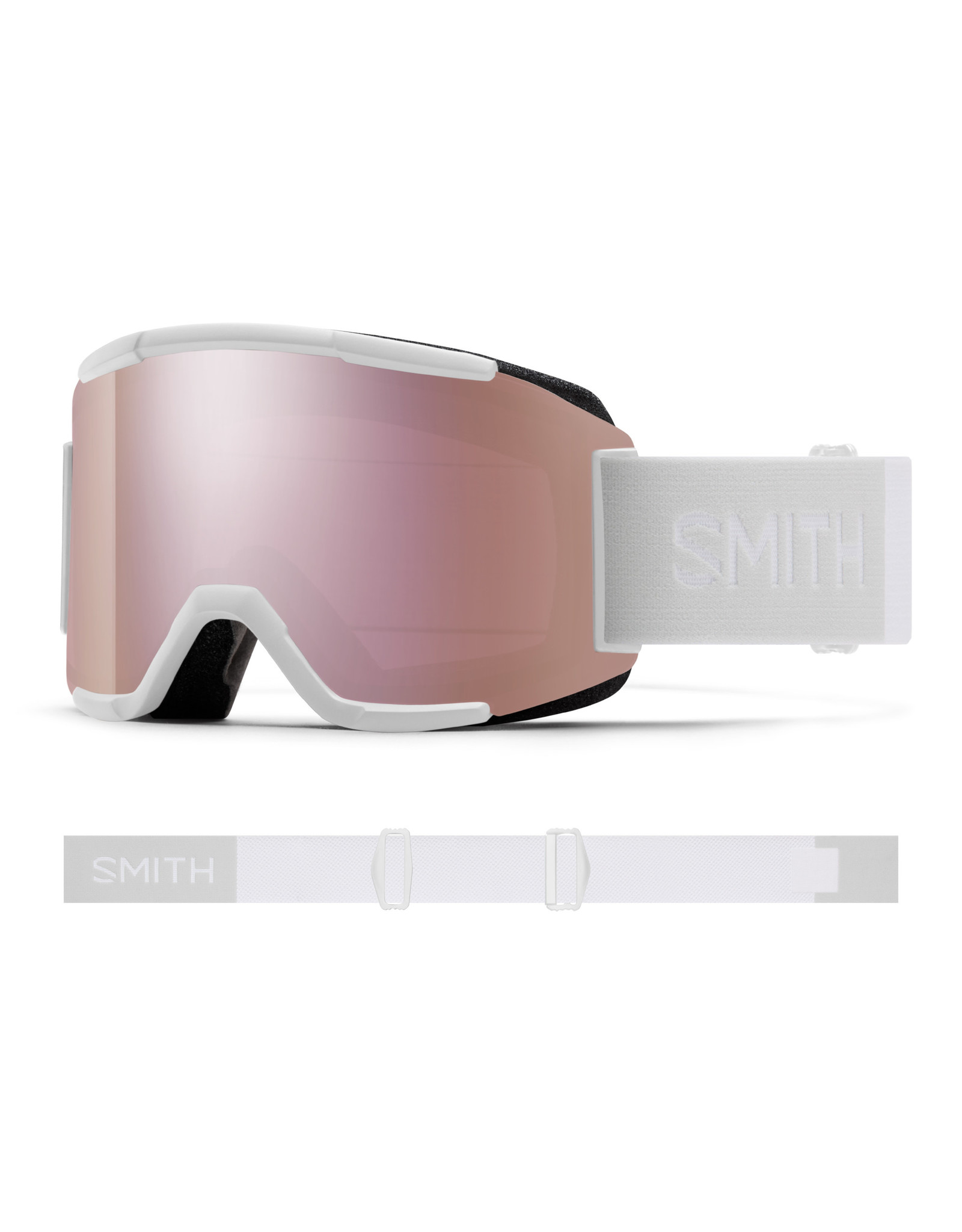 Smith SMITH SQUAD WHITE VAPOR 20 SKI GOGGLE