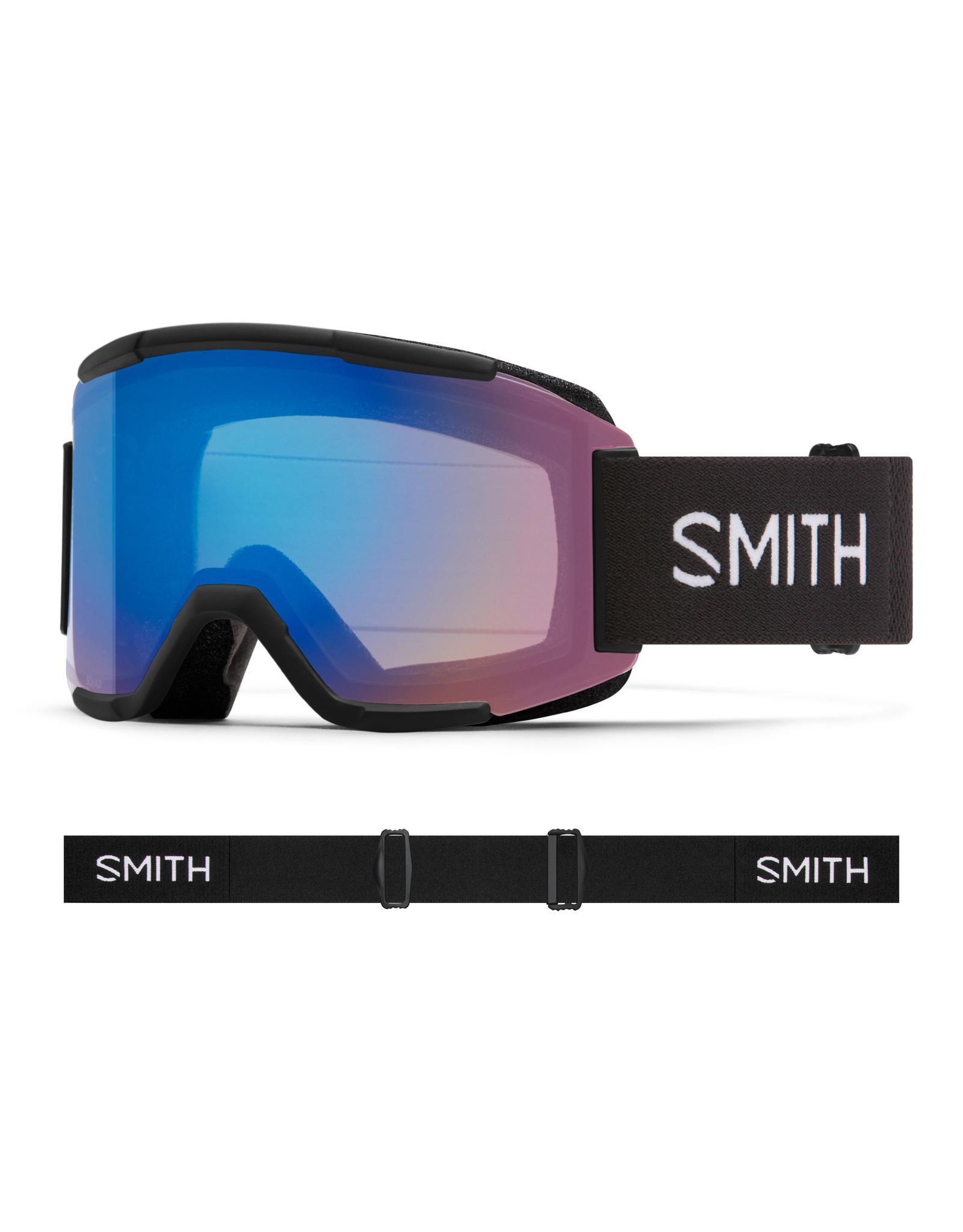 Smith SMITH SQUAD BLACK 20 LUNETTES DE SKI