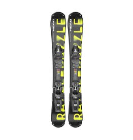 HEAD HEAD RAZZLEDAZZLE BLACK/YELLOW SR 20 SNOWBLADES