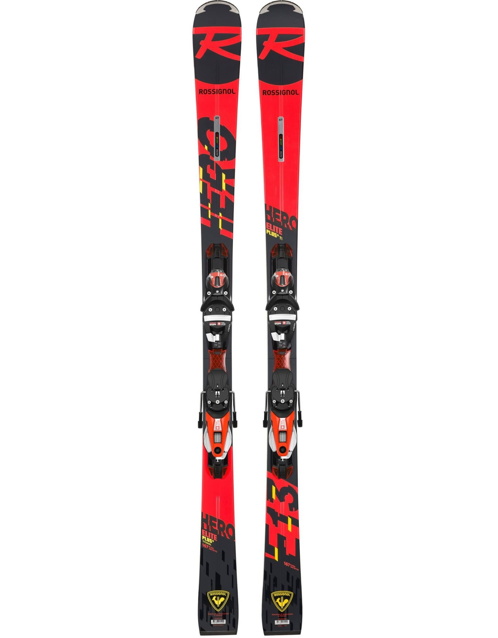 ROSSIGNOL DEMO ROSSIGNOL HERO ELITE PLUS TI 167 CM
