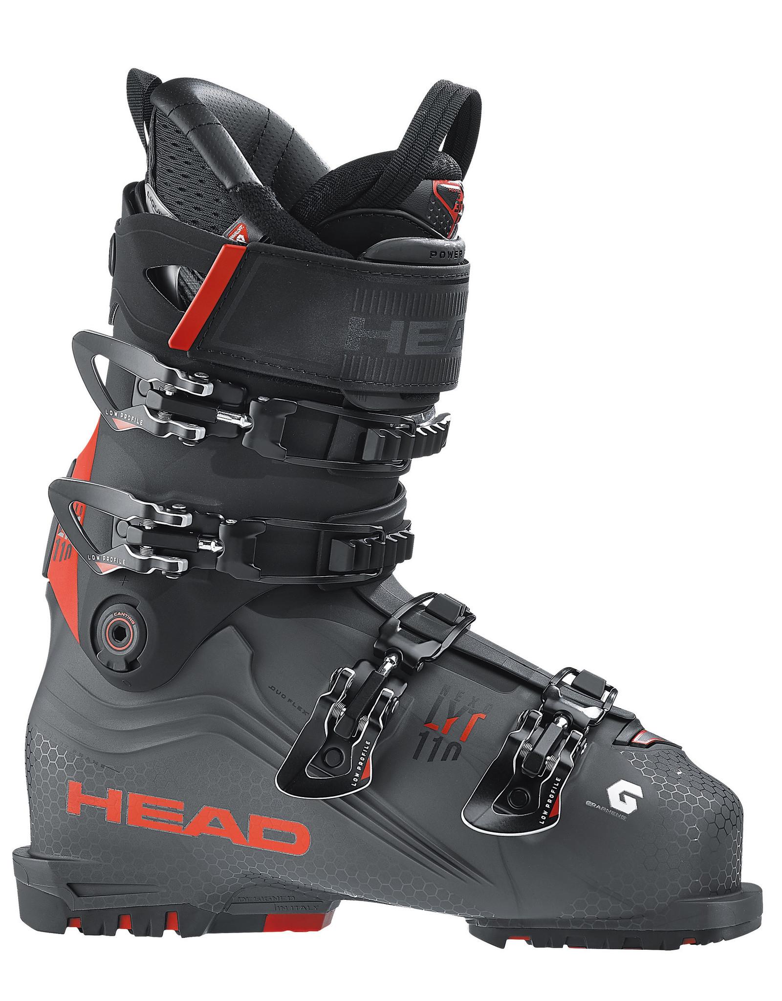HEAD HEAD NEXO LYT 110 ANTHRACITE /RED BOTTE SKI ALPIN