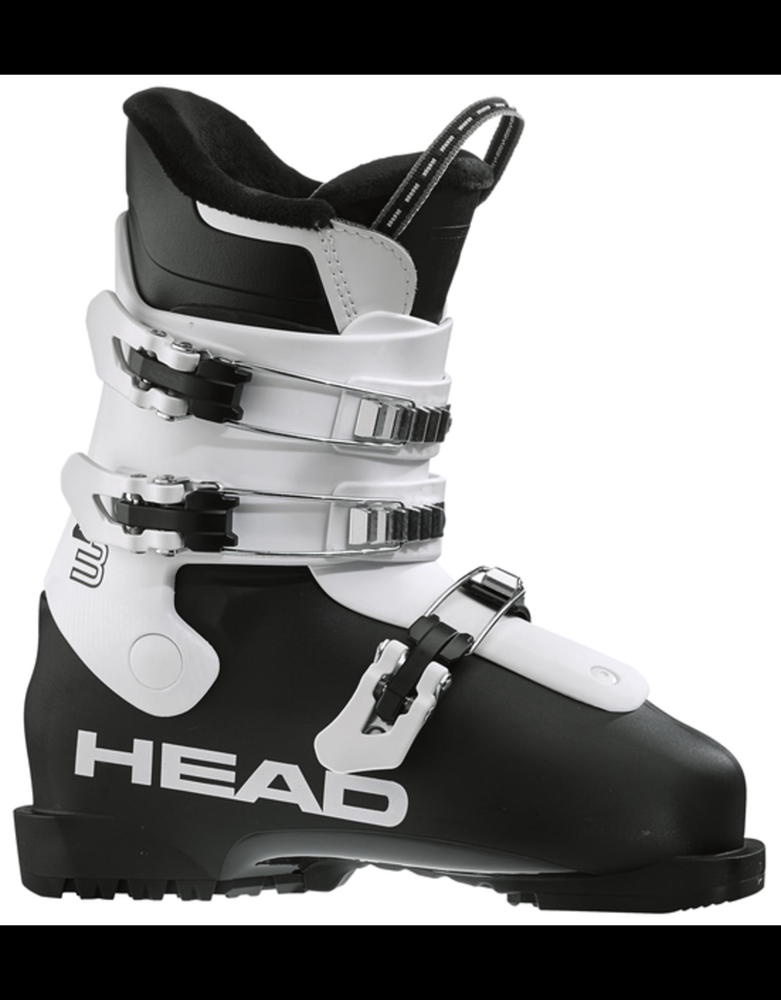 HEAD HEAD Z3 BLACK/WHITE  ALPINE SKI BOOT JR 20