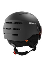 HEAD HEAD KNIGHT BLACK 20 SKI PROTECTIVE HELMET
