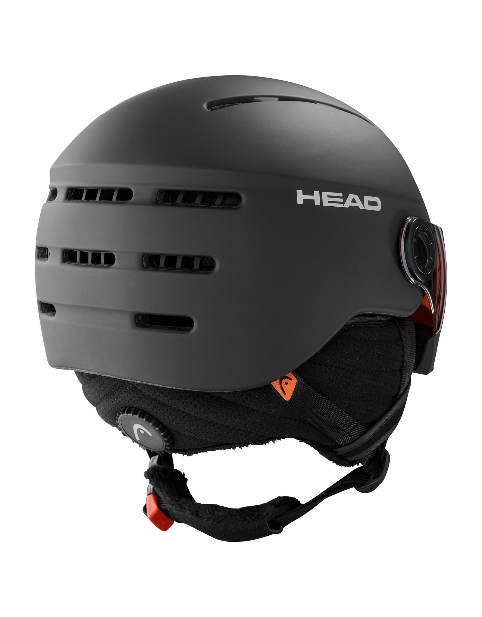 HEAD HEAD KNIGHT BLACK 20 CASQUE DE SKI